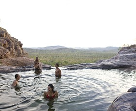 Gunlom Plunge Pool - Tourism Brisbane