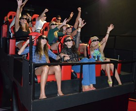 7D Cinema - Virtual Reality - Tourism Brisbane